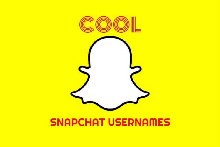 Cool Snapchat Names