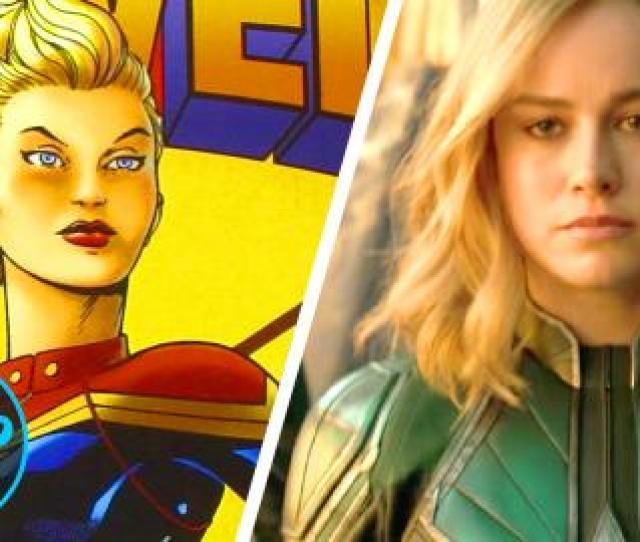 Superhero Origins Captain Marvel Carol Danvers