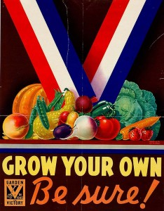 w wfa grown your own 234x300 War Food Administration Victory Garden Posters
