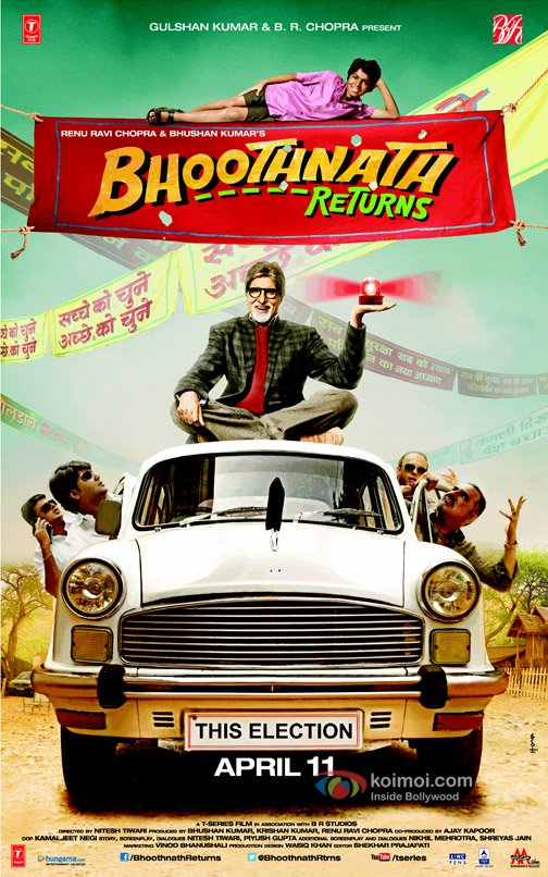 Bhoothnath Returns (2014) Watch Full Movie Online HD Download