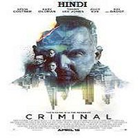 Criminal (2016) Hindi Dubbed Full Movie Watch Online HD Free Download