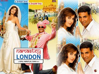 Namastey London (2007) Full Movie Watch Online HD Download