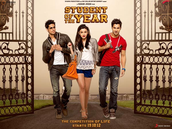 Student Of The Year (2012) Full movie Watch Online HD Download