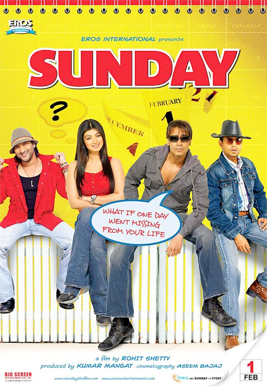 Sunday (2008) Watch Full Movie Online HD Download