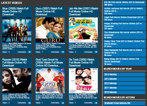 Watch Hollywood and Bollywood Movies Online