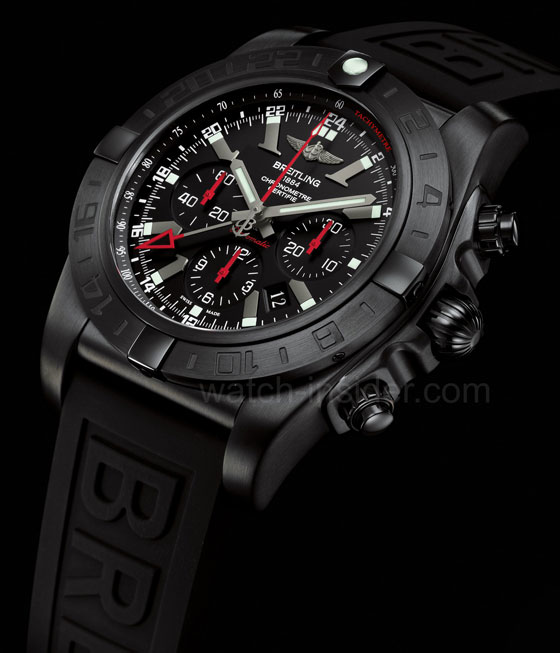 www.watchtime.com   blog    Watch Insiders Top 10 Chronographs of 2013   Breitling Chronomat GMT black