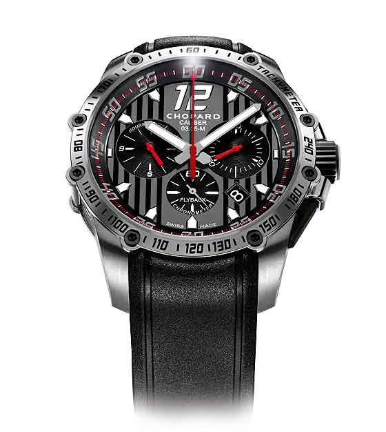 www.watchtime.com   blog    Watch Insiders Top 10 Chronographs of 2013   Chopard Superfast Chrono front 560