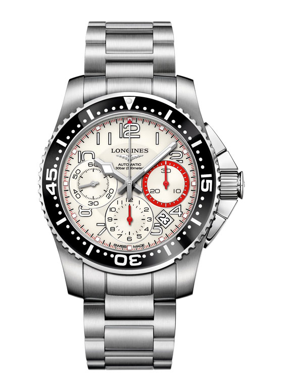 www.watchtime.com | blog  | Watch Insiders Top 10 Chronographs of 2013 | Longines HydroConquest Chronograph 11