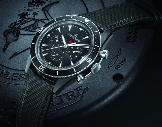 Jaeger-LeCoultre's Deep Sea Chronograph Cermet is a beauty with whom you will not get a date.