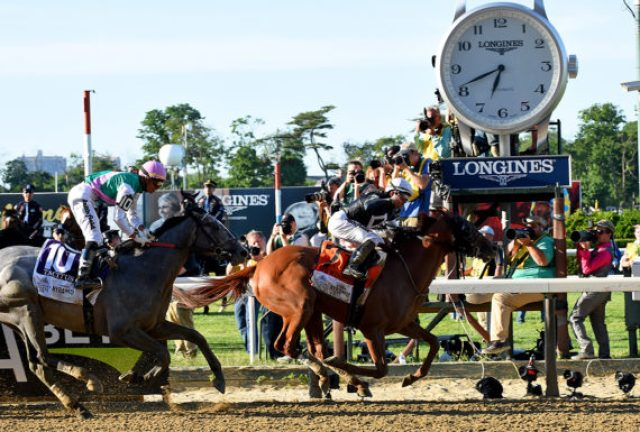 151st Belmont Stakes finish