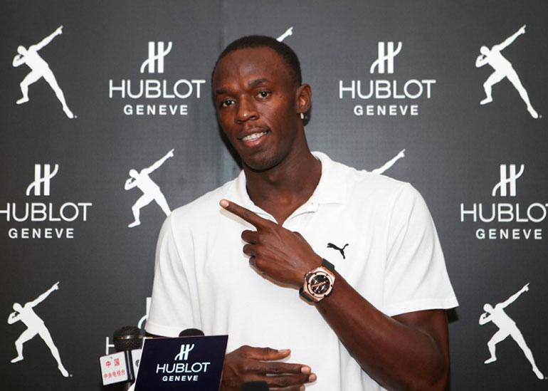 Usain Bolt - Hublot