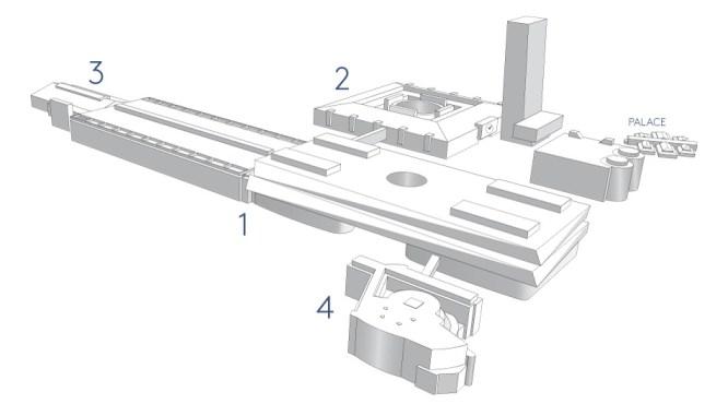 Plan des Halles à Baselworld 2014