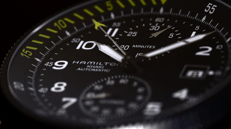 Hamilton Khaki Takeoff-closeup