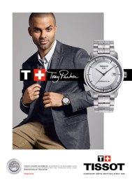 Tony Parker dans la nouvelle campagne Tissot