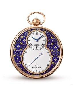 La montre de poche paillonnée de Jaquet Droz