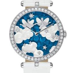 Van Cleef & Arpels montre Lady Arpels Zodiac signe Gémeaux