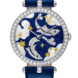 Van Cleef & Arpels montre Lady Arpels Zodiac signe Poissons