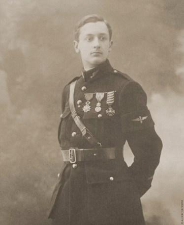 Portrait du capitaine Goerges Guynemer
