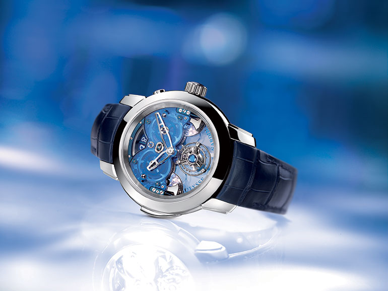 Ulysse Nardin Imperial Blue vue ambiance