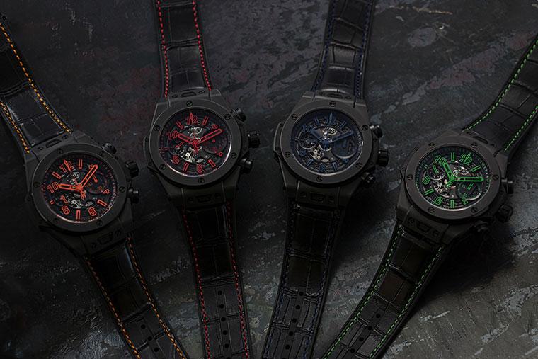 Hublot Unico All Black 4 couleurs