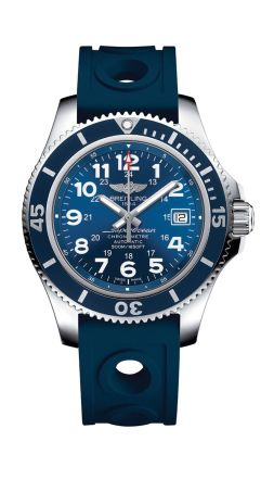 Breitling Superocean II soldat blue