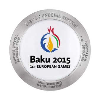 Tissot Quickster Baku Special Edition back