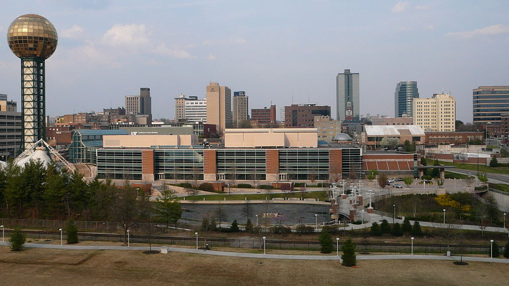 Knoxville skyline_128780