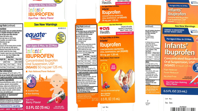 COVER PHOTO_INFANT IBUPROFEN RECALL_PRNewsfoto-Tris Pharma Inc_WFLA_1205_1544068552467.jpg.jpg