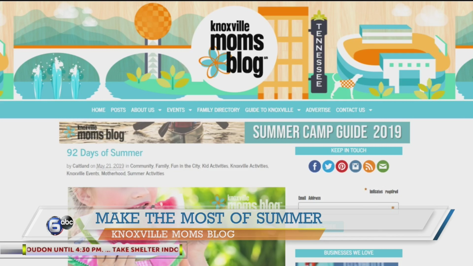 Find some summer fun with Knoxville Moms Blog