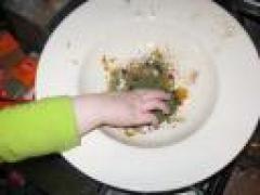 Dochter Wateetons kookt