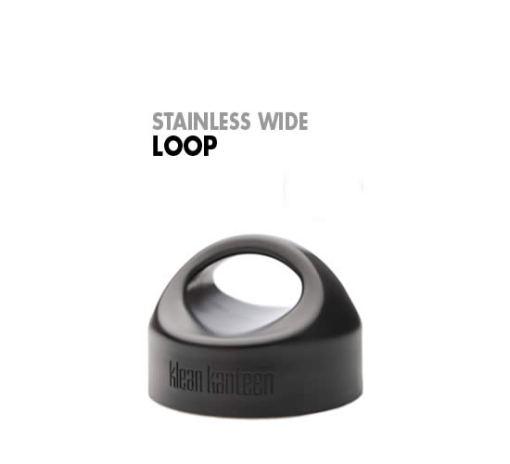 Wide Stainless Loop Cap