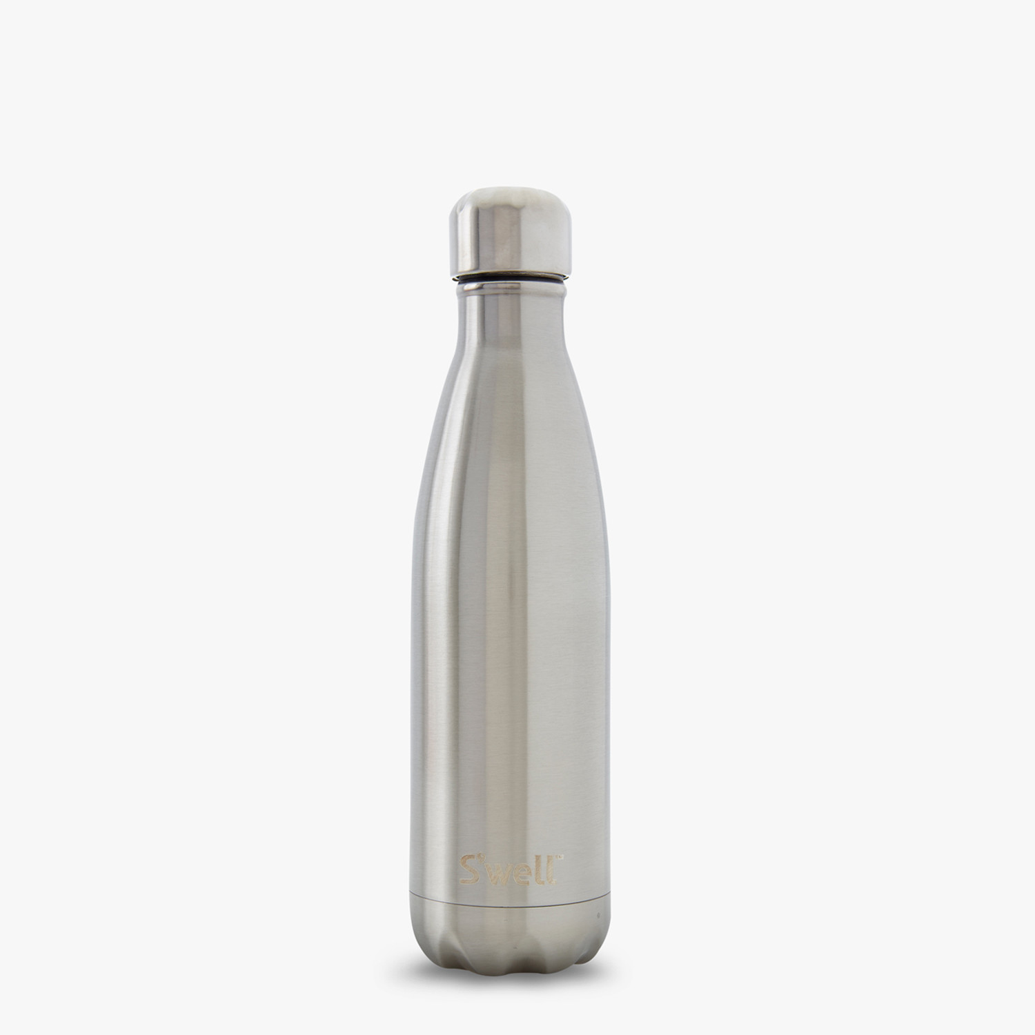 S'Well: Insulated Drink Bottle Silver