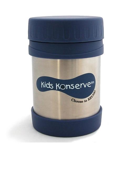 Insulated Food Jar - Kids Konserve 350ml Ocean