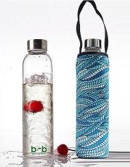 Beautiful Beaches Glass is Greener Bottle & Cover Combo 750ml - SEALEAF