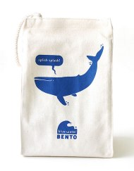 ECOlunchbox, Blue Water Bento, Lunchbag - Blue Whale