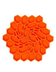 Modern Twist Trivetz Silicone - Tangerine