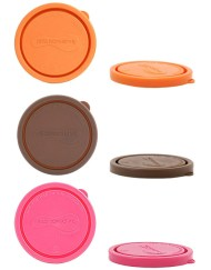 Kids Konserve Set of 2 Replacement Lids for Small Rounds