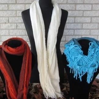 Winter-Schals