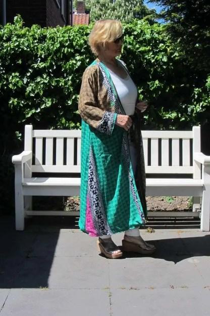Sari Kimono 104 modelo largo 2
