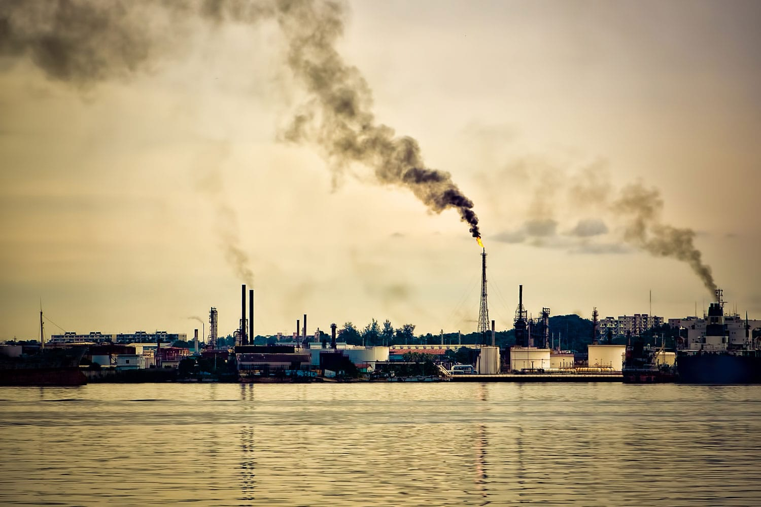 Atmospheric Water Pollution