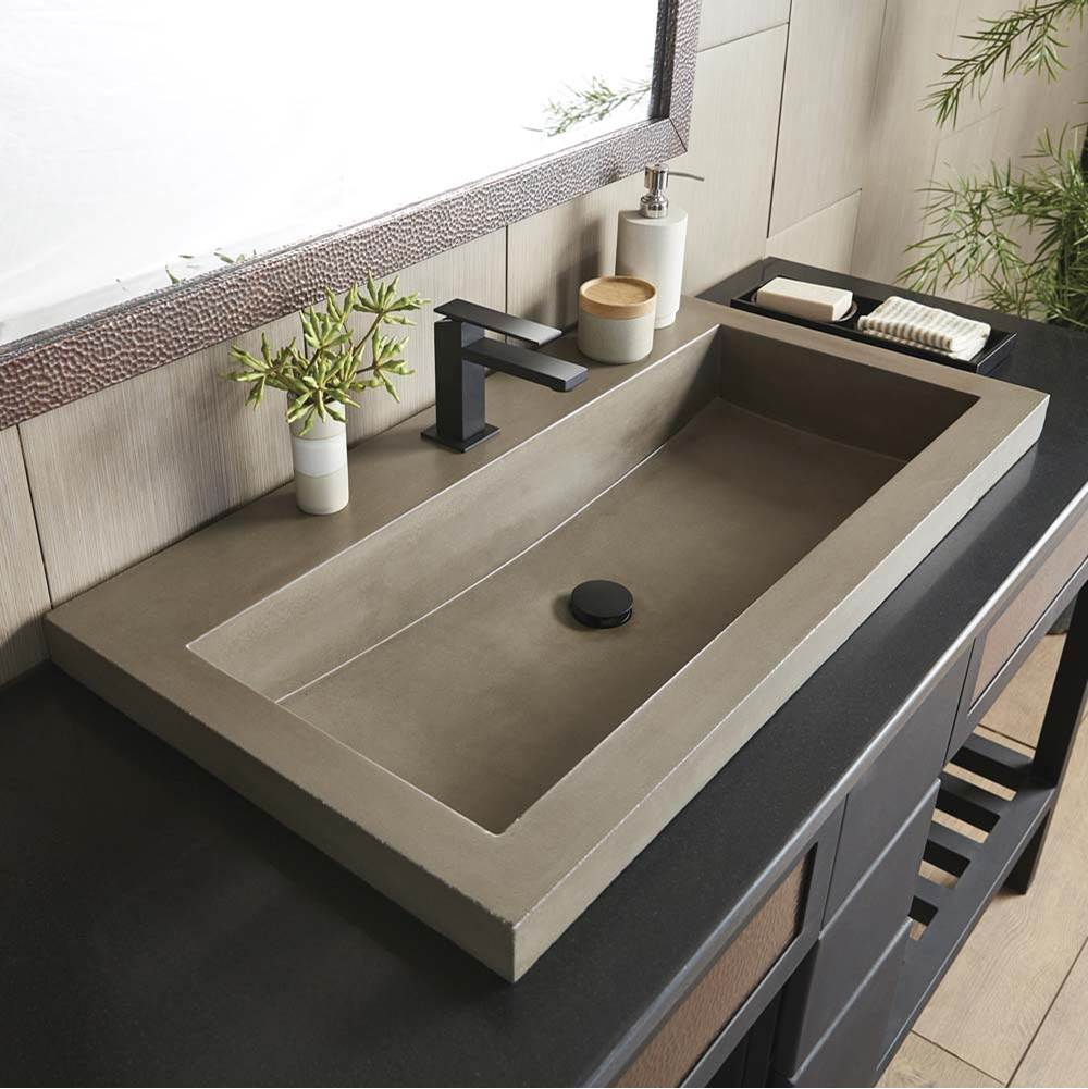 drop in bathroom sinks the water