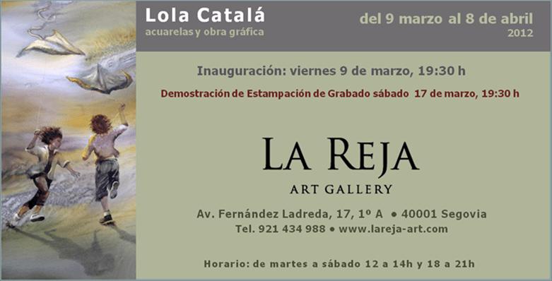 Lola Catala Expone Espacios Para El Juego En Segovia Acuarela Online