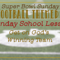 Super Soul Bowl Sunday School Idea