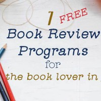 7 Book Review Programs for Blogger Newbies, Part 2