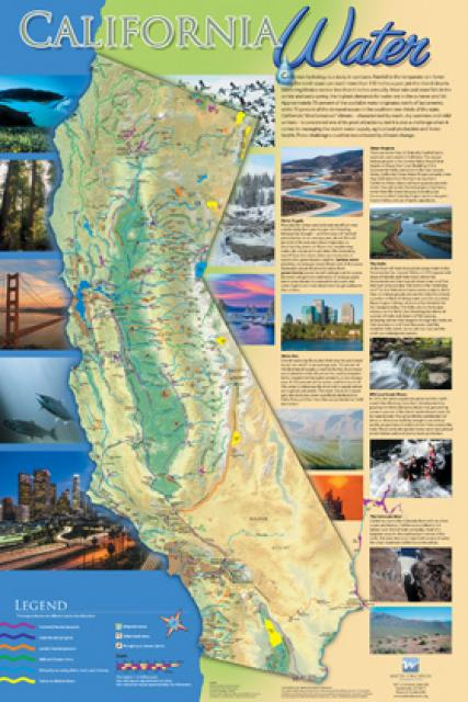 california water map water education