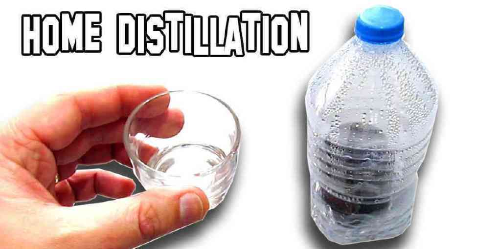 how to get distilled water