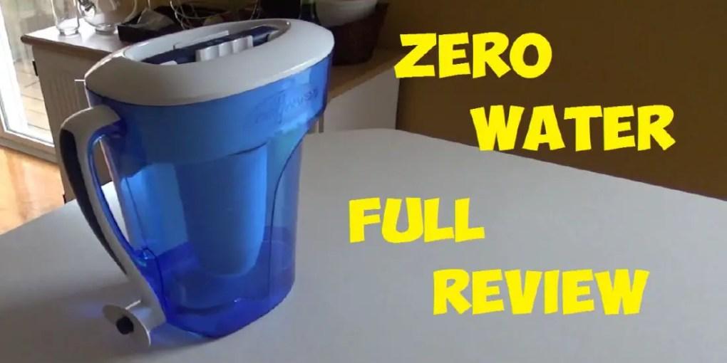 zero water reviews