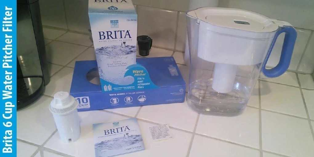 Brita Small 6 Cup Water Pitcher Filter