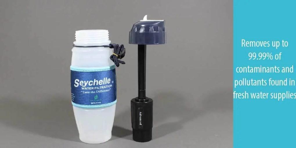 Seychelle 28 Ounce Water Bottle Advanced Filter