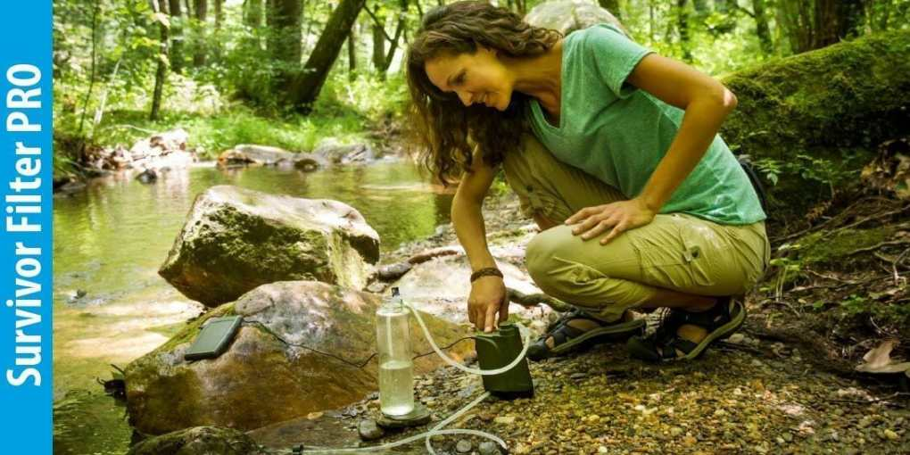 Survivor Filter PRO 01 Micron Water Purifier